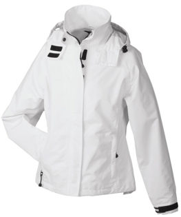 Werbeartikel Ladies Outer Jacket - white