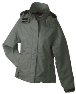 Werbeartikel Ladies Outer Jacket - olive