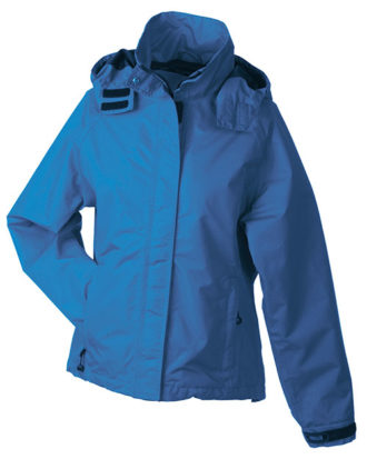 Werbeartikel Ladies Outer Jacket - azur