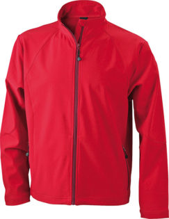 Werbeartikel Jacken Softshell Jacket - red