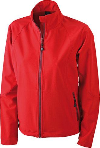 Werbemittel Softshell Ladies Jacket - red