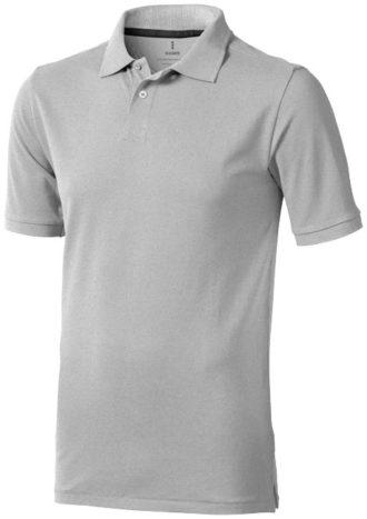 Seller Poloshirt - grau meliert