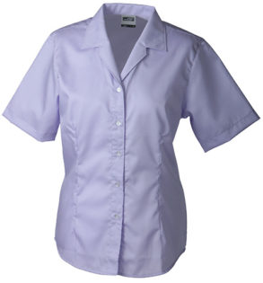 Werbemittel Bluse Business kurzarm - lilac