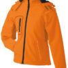 Werbeartikel Softshell Jacken Ladies Winter - orange
