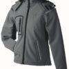 Werbeartikel Softshell Jacken Ladies Winter - carbon