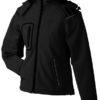 Werbeartikel Softshell Jacken Ladies Winter - black