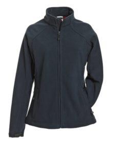 Werbeartikel Jacke Ladies Bonded Fleece - navy/red