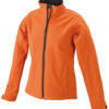 Damen Softshell JacDamen Softshell Jacke Corporate - pop orange