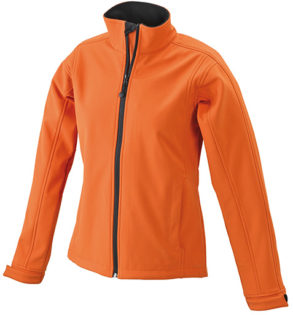 Damen Softshell JacDamen Softshell Jacke Corporate - pop orange