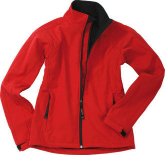 Damen Softshell Jacke Corporate - red