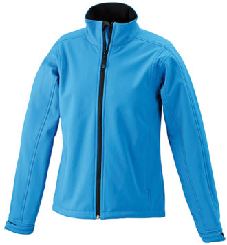 Damen Softshell Jacke Corporate - aqua