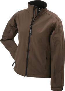 Damen Softshell Jacke Corporate - brown