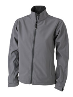 Damen Softshell Jacke Corporate - carbon