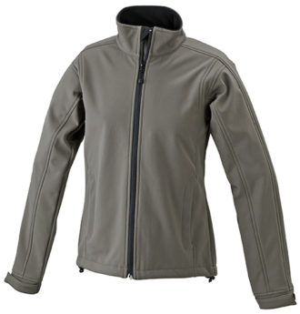 Damen Softshell Jacke Corporate - olive