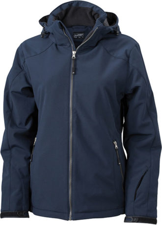 Wintersport Jacket Ladies James and Nicholson - navy