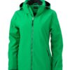 Wintersport Jacket Ladies James and Nicholson - green