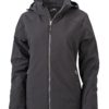 Wintersport Jacket Ladies James and Nicholson - black