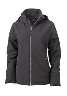 Wintersport Jacket Ladies James and Nicholson - black