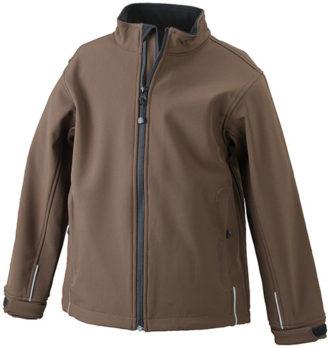 Softshelljacke Junior Corporate - brown