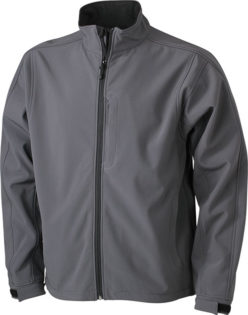 Softshelljacke Junior Corporate - carbon