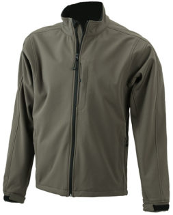 Softshelljacke Junior Corporate - olive