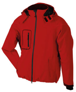 Softshelljacke Winter Jacket Men - red
