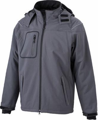 Softshelljacke Winter Jacket Men - carbon