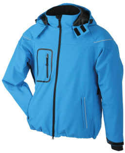 Softshelljacke Winter Jacket Men - aqua