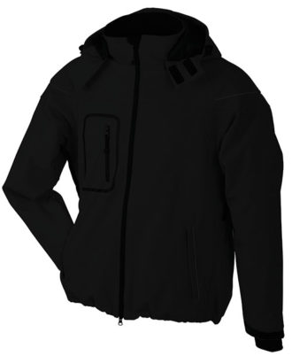 Softshelljacke Winter Jacket Men - black