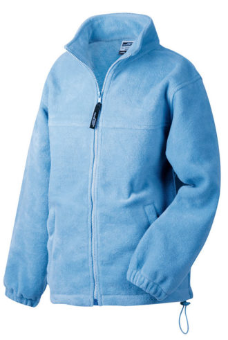 Werbeartikel Fleece Jacken James Nicholson - lightblue