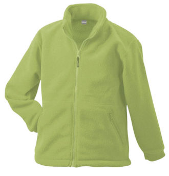 Werbeartikel Fleece Jacken James Nicholson - limegreen