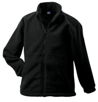 Werbeartikel Fleece Jacken James Nicholson - black