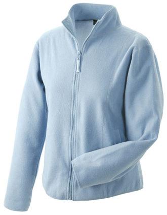 Werbeartikel Fleecejacken Damen - light blue