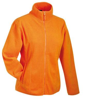 Werbeartikel Fleecejacken Damen - orange