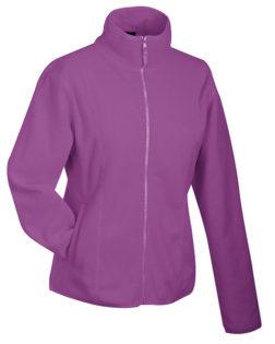 Werbeartikel Fleecejacken Damen - purple