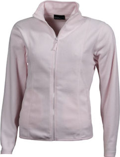 Werbeartikel Fleecejacken Damen - light pink