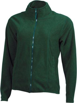Werbeartikel Fleecejacken Damen - dark green