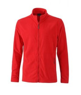 Fleecejacken Mens Basic - rot