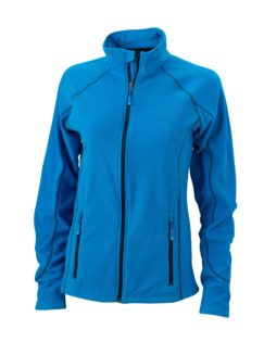 SlazengDamen Fleece Jacke Structureer Damen Fleece Jacke - aqua/navy