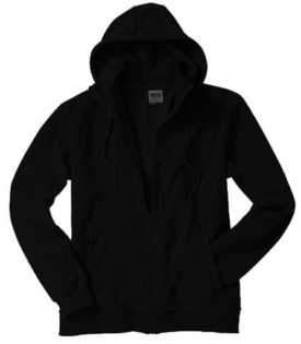 Mikro Fleece Zip Hooded Jacket - black