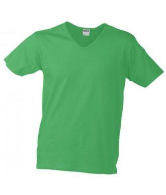 T-Shirt Slim Fit Men mit V-Ausschnitt - frog