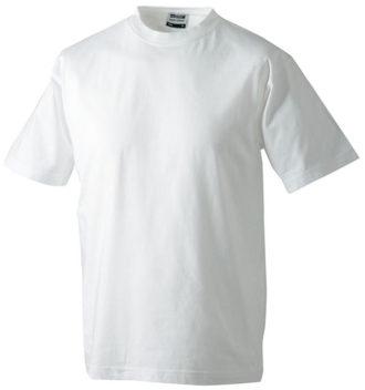 Herren-Shirt Workwear James Nicholson - white