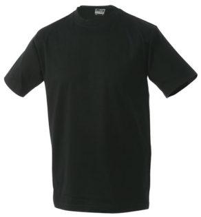 Herren-Shirt Workwear James Nicholson - black