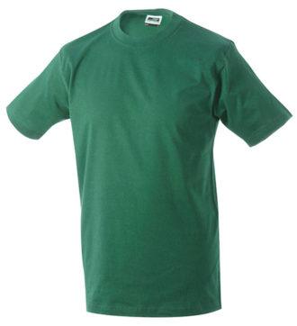 Herren-Shirt Workwear James Nicholson - dark green