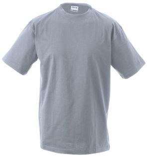 Herren-Shirt Workwear James Nicholson - grey heather