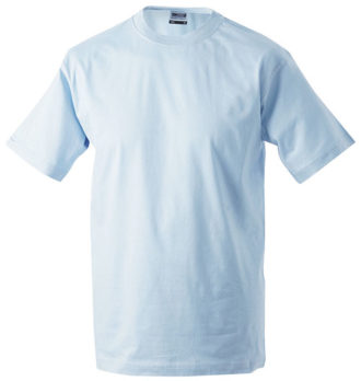 Herren-Shirt Workwear James Nicholson - light blue