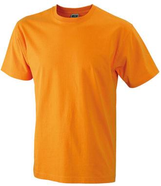 Herren-Shirt Workwear James Nicholson - orange