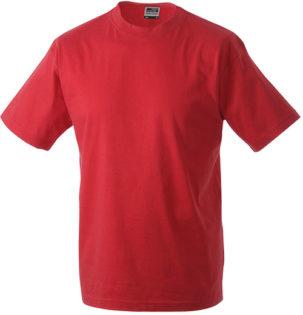 Herren-Shirt Workwear James Nicholson - red