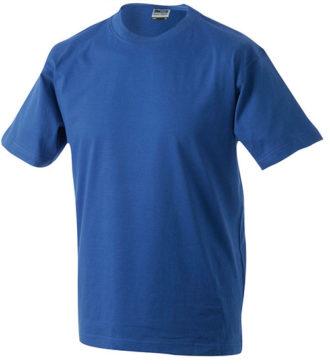 Herren-Shirt Workwear James Nicholson - royal