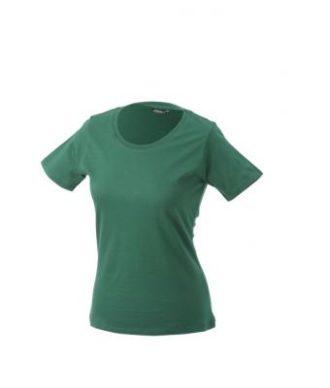 Damen Shirt Workwear - dark green